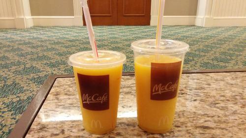 マクドナルドのジュース03