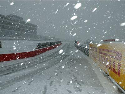 雪の駐車場00