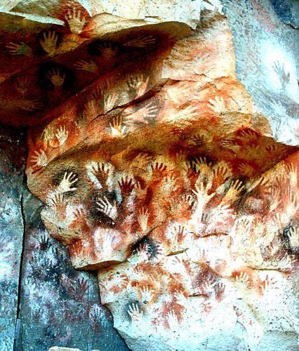 ラス・マノス洞窟の手形02