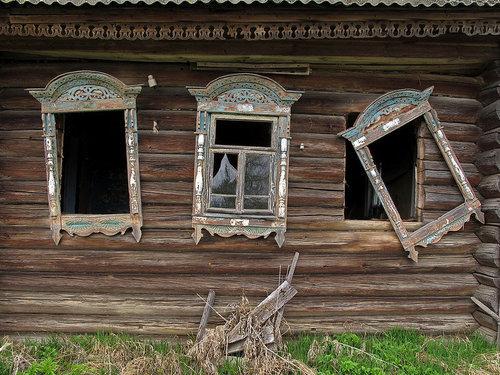 ロシアの廃村11