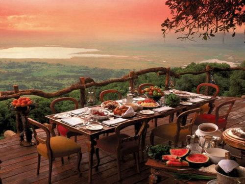 世界の絶景レストラン22