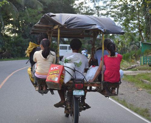 バイクで物を運ぶ限界20