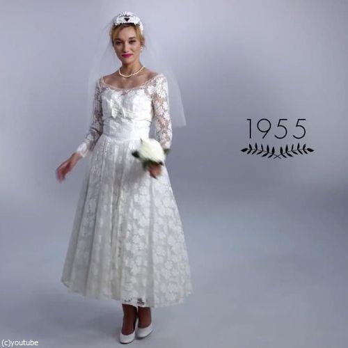 ウェディングドレスの変化05