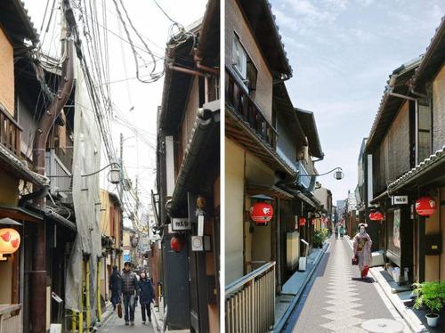 京都から電柱を取り除く計画01