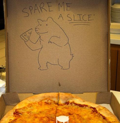 ピザのデリバリーの絵11