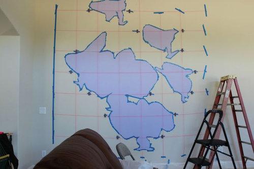 エンジニアが壁に蘭を描いた03