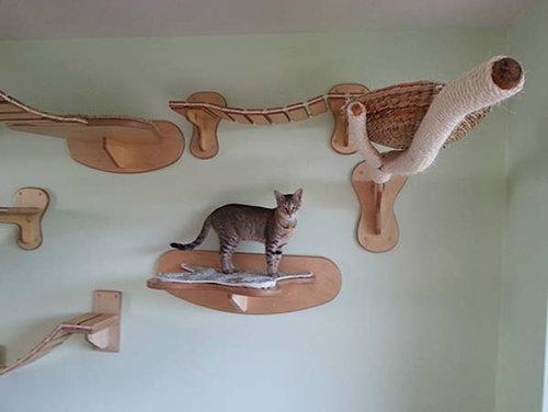 猫用のつり橋07