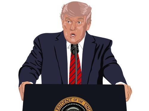 ヨーロッパ最大の週刊誌が「今年の負け犬」にトランプ大統領を選出