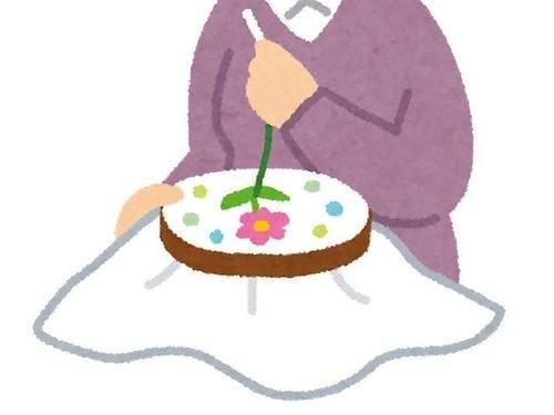 86歳のおばあちゃんが25年かけて作ったイスの刺繍