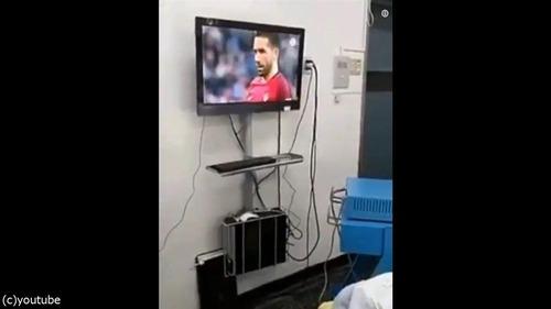 チリ人のサッカー熱01