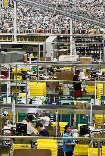 Amazonの倉庫10
