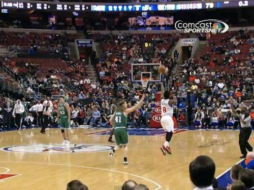 NBA最長のロングシュート01