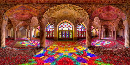 モスクの室内01