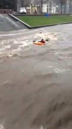 大学が洪水01