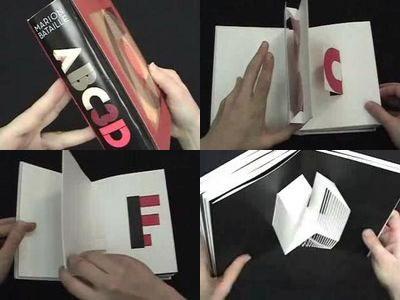 アルファベットが飛び出す絵本『Abc3d 』TOP