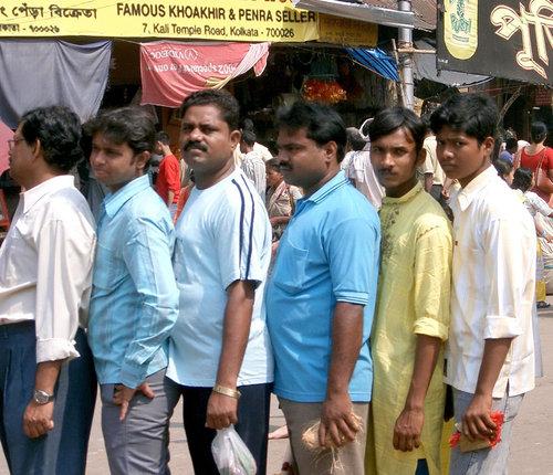 インドの列の並び方01