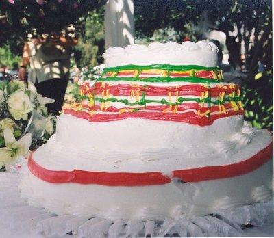 悪いウェディングケーキ