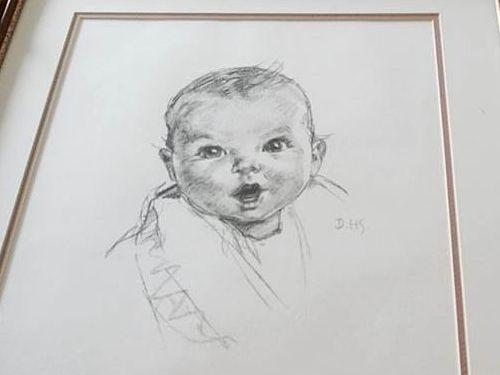 おばあちゃんが90年前に描いてもらった似顔絵02