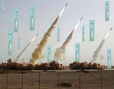 合成がバレたイランのミサイル発射、画像の加工がエスカレート08