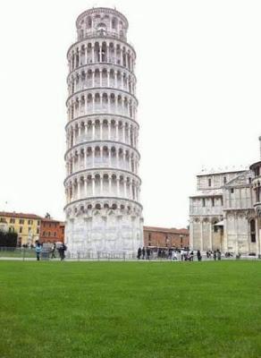 ピサの斜塔の修正写真06