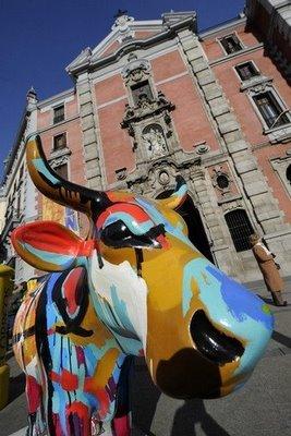 スペインの面白牛彫刻10