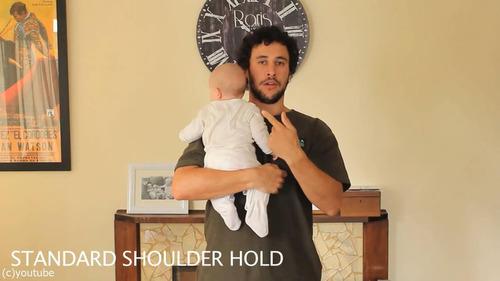 「赤ちゃんの抱き方」01