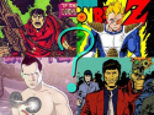 アメコミ作者が日本の漫画キャラクターを描いたら00