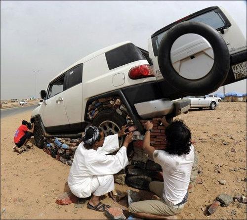 サウジアラビアの遊び05