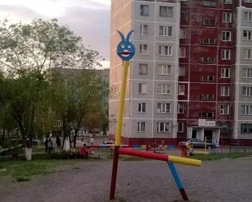 ロシアの遊具、手作り編21