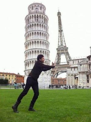 ピサの斜塔の修正写真10