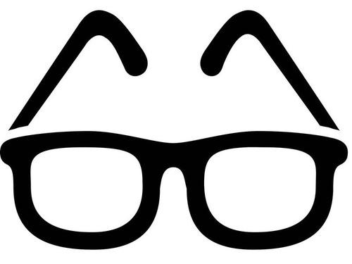 フランスのメガネの広告00