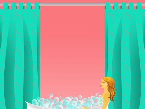 シャワーカーテン00
