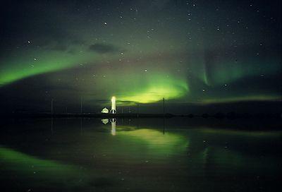 世界の灯台-セルチャルトナルネス (Seltjarnarnes)灯台(アイスランド)