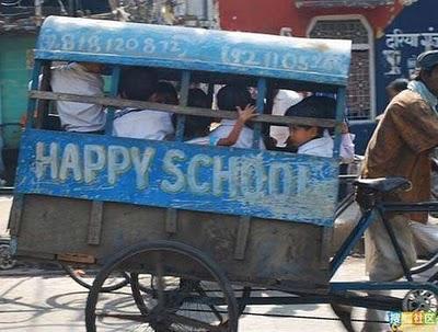 インドのスクールバス10