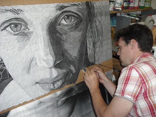 ラブレターで肖像画09