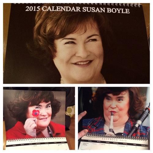 スコットランドにいる叔父が送ってきたカレンダー01