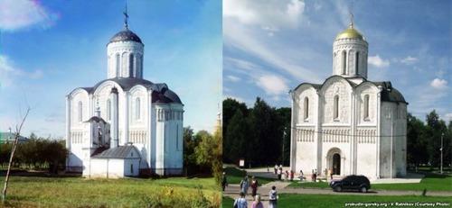 ロシア帝国時代の写真と現在17