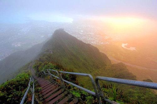 ハワイの天国への階段10
