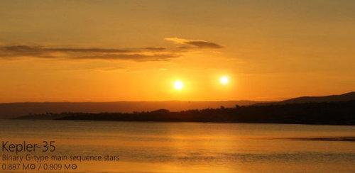 夕日を太陽以外の恒星にしたら05