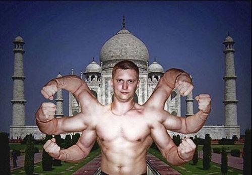 ロシア人のフォトショップ01