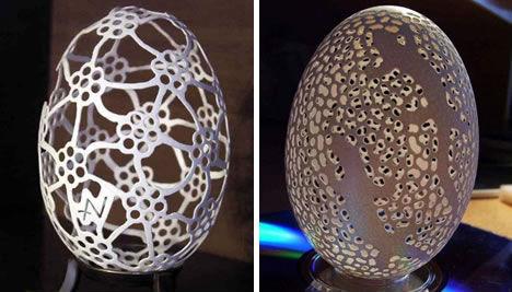 卵の殻アート02