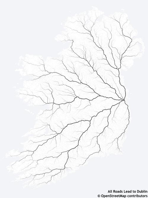 アイルランドの道はすべてダブリンに繋がっている01