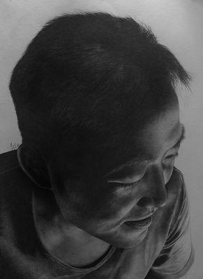 実写みたいな鉛筆画09