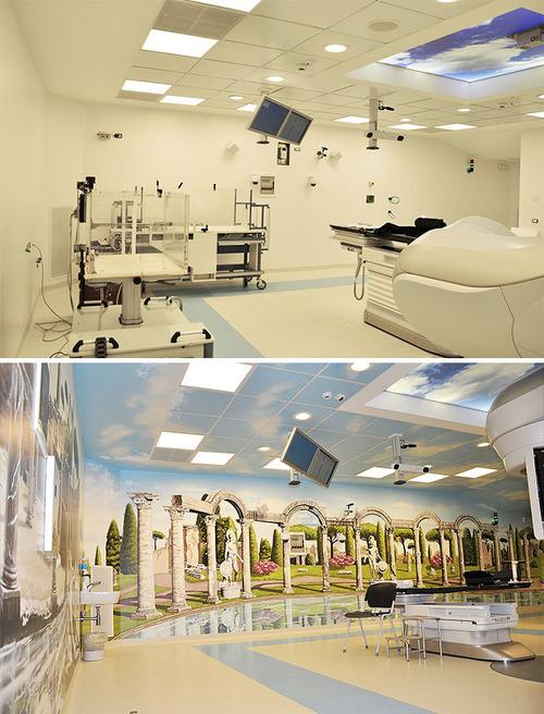 病院をペイント02