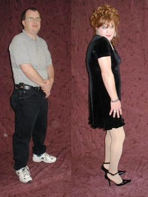 一般の男性を女装させると11