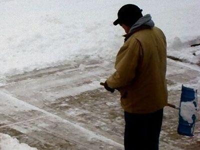 雪かきで困った00