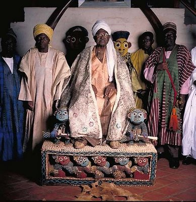 アフリカの部族の王や族長たち12