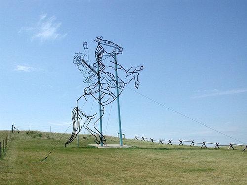 ノースダコタの彫像09