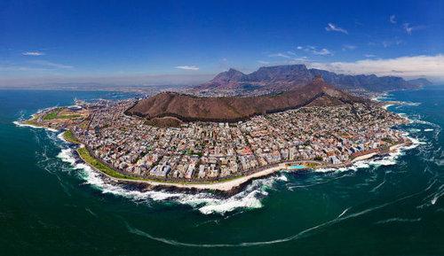 上空から見た都市23