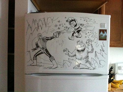 冷蔵庫アート07